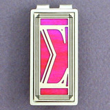 Greek Sigma Money Clip