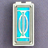 Greek Phi Money Clips