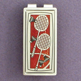 Badminton Money Clips
