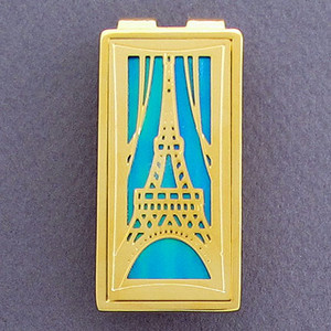 Eiffel Tower France Money Clips