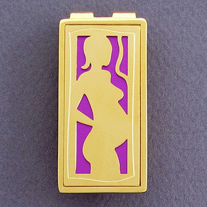 Pregnant Woman Money Clips