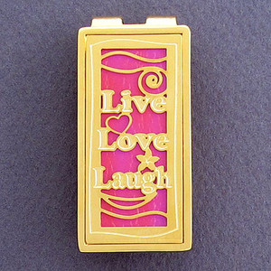 Live Love Laugh Money Clip