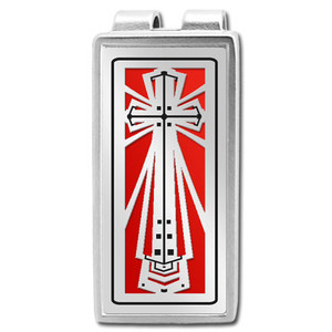 Christian Money Clips with Crosses