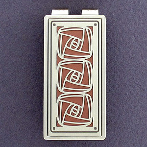 Craftsman Rose Money Clips