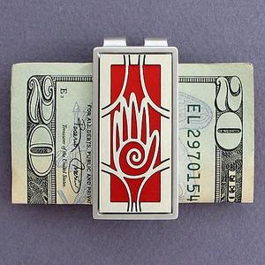 Open Hand Money Clips