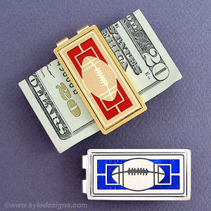 Football Money Clips