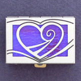 Heart Mini Pill Case