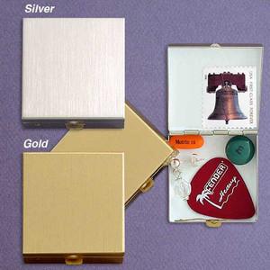 Sleek Small Square Pill Box