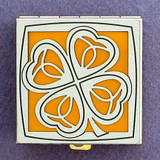 4-Leaf Clover Pill Holder