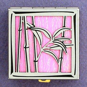 Bamboo Pill Box