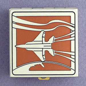Jet Plane Pill Box