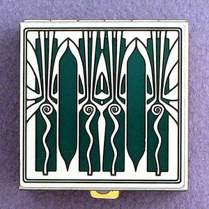 Art Deco Pill Box