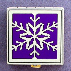Snowflake Pill Box
