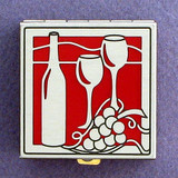 Wine Pill Box