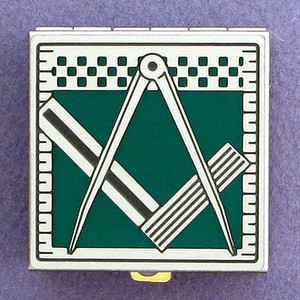 Masonic Pill Box