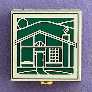 House Pill Box