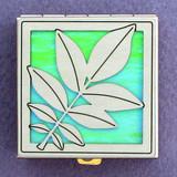 Walnut Leaf Pill Box