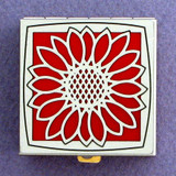 Sunflower Pill Box