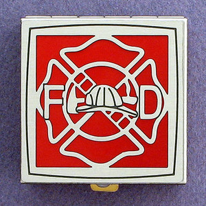 Firefighter Pill Box - Personalized Gift for Firefighter