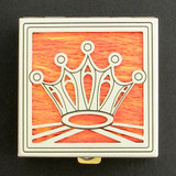 Royal Crown Pill Box