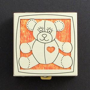 Teddy Bear Pill Box