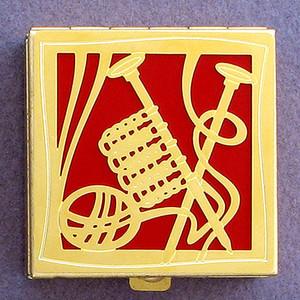 Knitter Pill Box