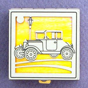 Antique Car Pill Box