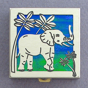 Elephant Pill Box