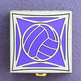 Volleyball Pill Box