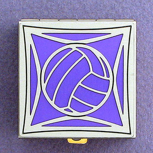 Volleyball Pill Box