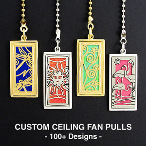 Sale Ceiling Fan Pull Chains in Unique Designs