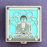 Buddhist Enlightenment Pill Box