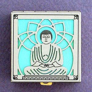 Buddhist Enlightenment Pill Box