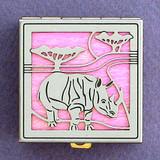 Rhino Pill Box
