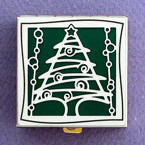Christmas Tree Pill Box