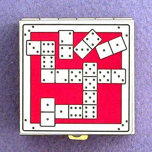 Domino Games Pill Box
