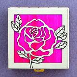 Rose Pill Box
