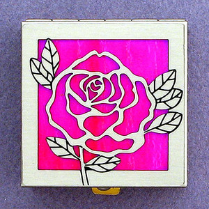 Rose Pill Box