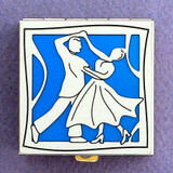 Ballroom Dancing Pill Box