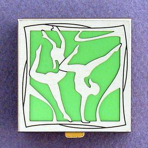 Gymnastics Pill Box