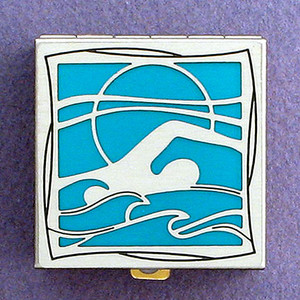 Swimmer Pill Box