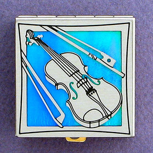 Violin Pill Box