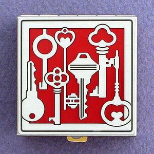 Keys Decorative Pill Box