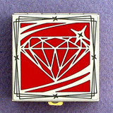 Diamond Pill Box