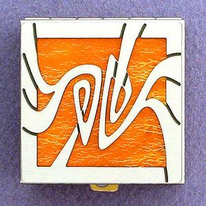 Art Nouveau Pill Box