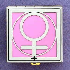 Female Symbol Pill Boxes