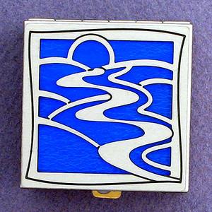 Stylish River Pill Boxes