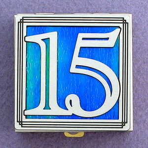 Number 15 Pill Box
