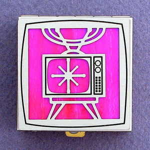 Retro Television Pill Boxes