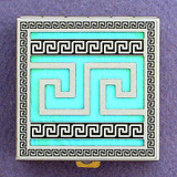 Greek Key Pattern Pill Boxes